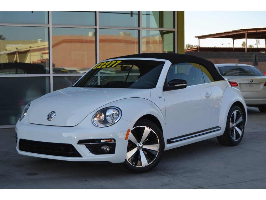2014 Volkswagen Beetle Turbo R Line Convertible Pzev For Sale Cargurus
