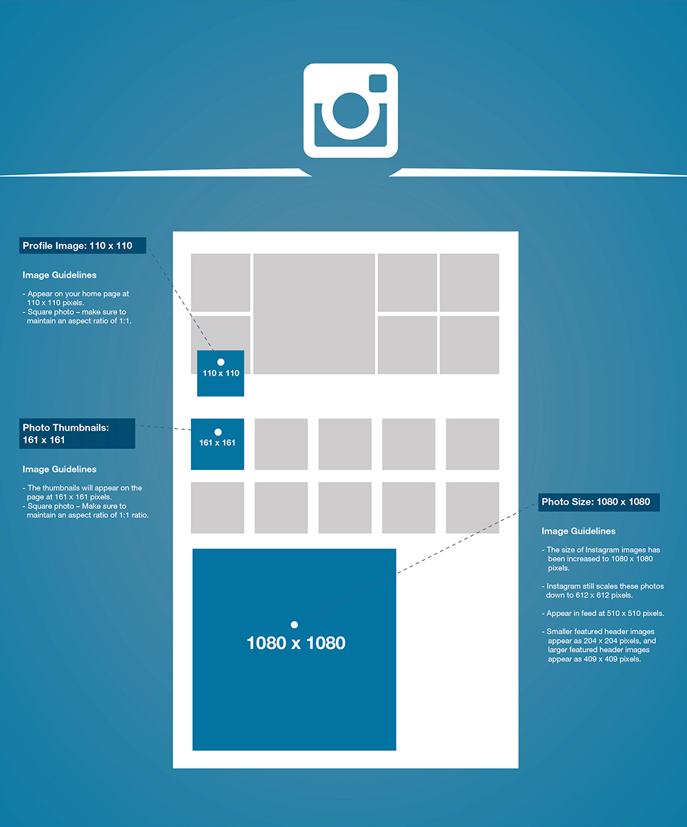 List of Synonyms and Antonyms of the Word: instagram pixel size