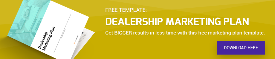 FlexDealer Dealership Marketing Plan Template