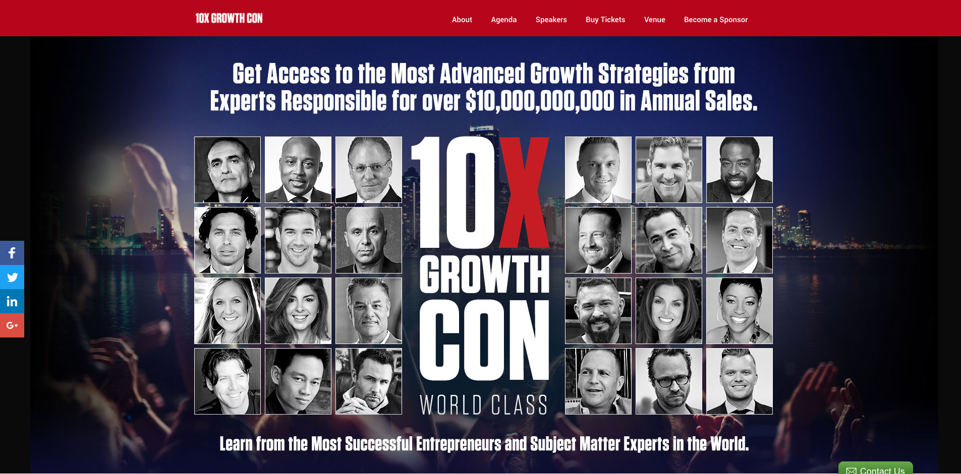 Crant Cardone's 10x Growth Conference