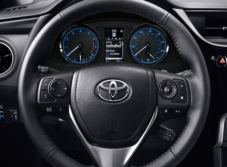 2017 Toyota Corolla steering wheel