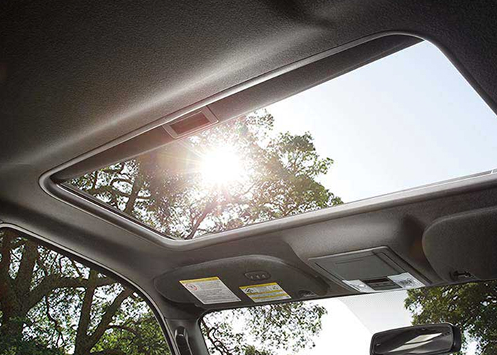 2017 Ford Expedition sun roof