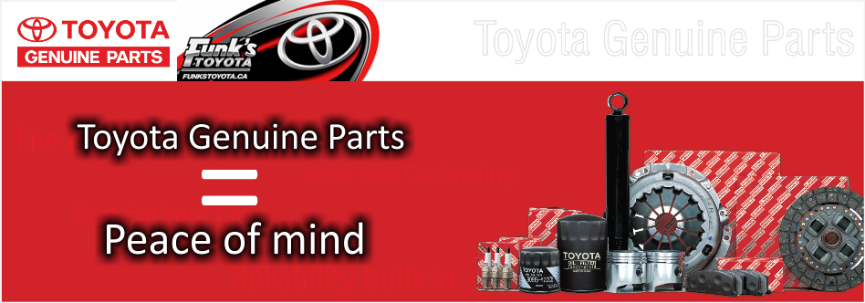 Toyota Genuine Parts >> Toyota Genuine Parts