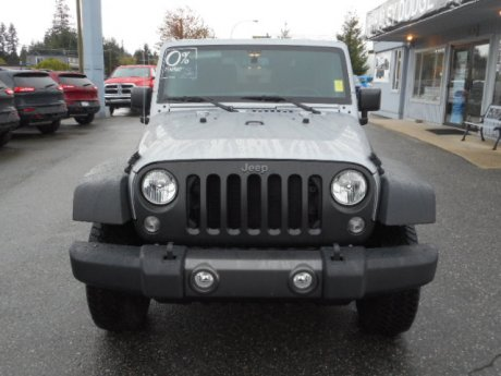 2016 jeep wrangler sport 0 financing available from haley dodge sc in gibsons british columbia. Black Bedroom Furniture Sets. Home Design Ideas